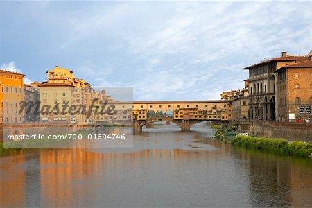 Arno River, Ponte Vecchio, Florence, Italy