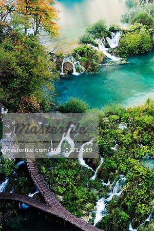 Lower Falls, Nationalpark Plitvicer Seen, Kroatien