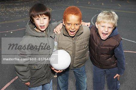 Portrait de garçons