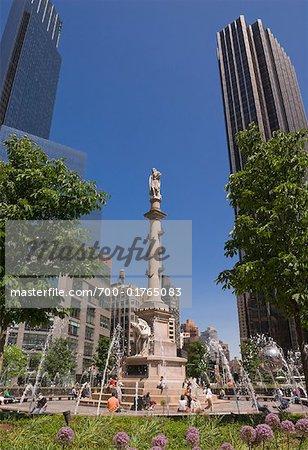 Columbus Circle, New York City, New York, États-Unis