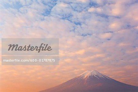Le Mont Fuji, Honshu, Japon
