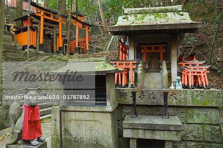Fushimi Inari-Taisha-Schrein, Kyoto, Kansai, Honshu, Japan