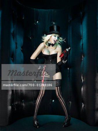 Portrait of Showgirl