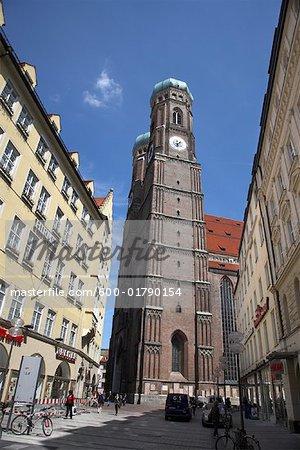 Frauenkirche, Munich, Allemagne