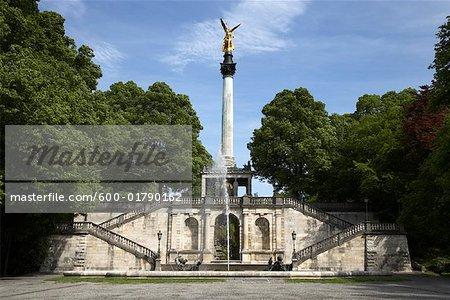 Angel of Peace Statue, Munich, Germany