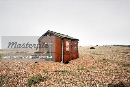 Hut in Field, England