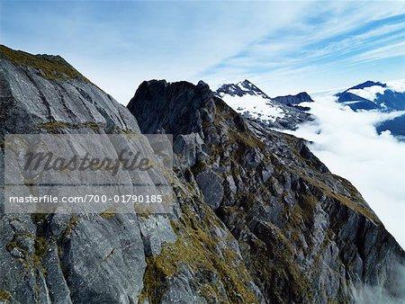 Mountains Near Mt Cook, New Zealand