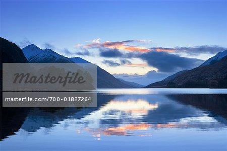 Loch Shiel at Dusk, Scotland