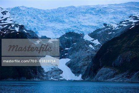 Glacier Pia, Patagonie, Chili