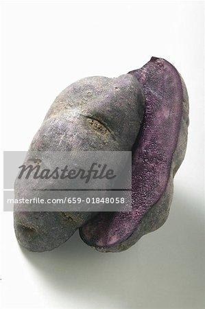 Truffle potato, halved