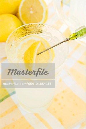 Ein Glas Limonade