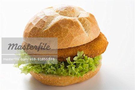 Poultry burger