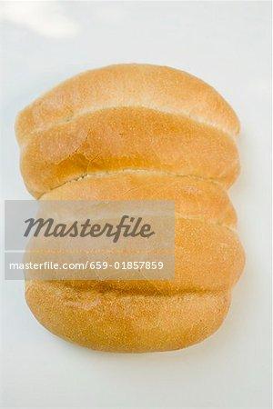 Batch-baked bread rolls