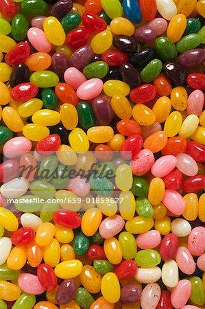 Bonbons colorés (full-frame)