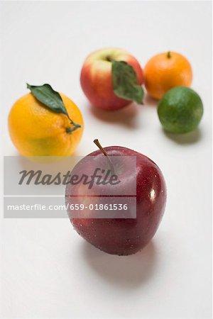 Pommes et agrumes
