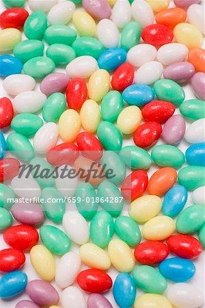 Œufs sucre coloré (full-frame)
