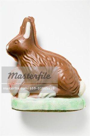 Lapin de Pâques au chocolat
