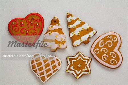 Assorted Lebkuchen for Christmas