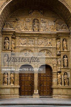 Doorway, Haro, La Rioja, Spain