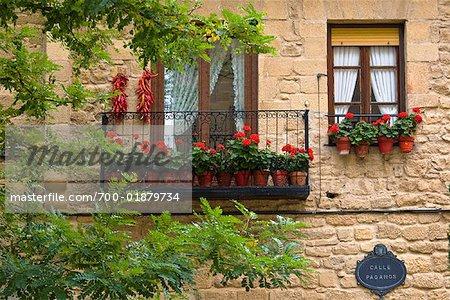 Window and Balcony, Haro, La Rioja, Spain