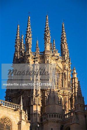 Notre Dame de la cathédrale de Burgos, Burgos, Province de Burgos, Castilla y Leon, Espagne