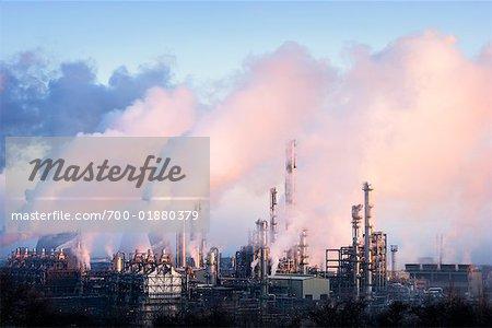 Petrochemical Plant, West Lothian, Grangemouth, Scotland