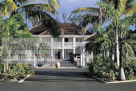 Hôtel de style colonial de la réunion, Saint-Gilles,