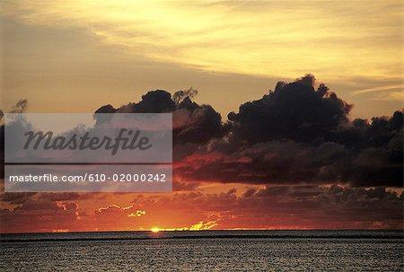 Mauritius, sunset