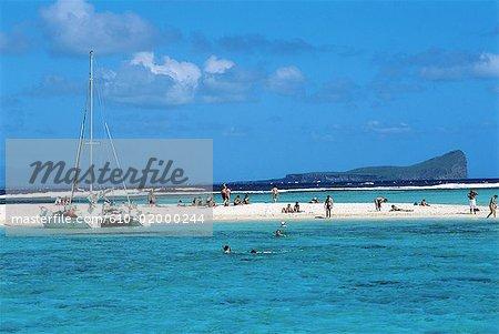 Mauritius, île aux cerfs, beach