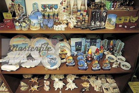 Mauritius, Port-Louis, souvenirs on sale