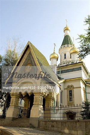 Bulgaria, Sofia, Russian church