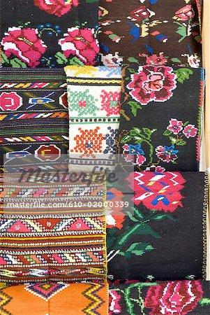 Tissu de Bulgarie, Bansko,