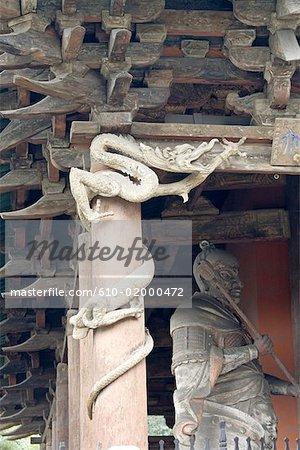 Temple Jinci de Shanxi province, Taiyuan, Chine