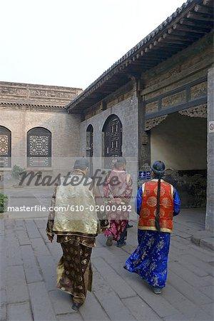 La Chine, la province du Shanxi, Qiao Jia, Qiao residence