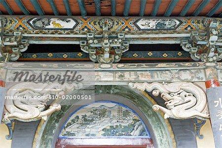 China, Shanxi province, Taiyuan, Jinci temple