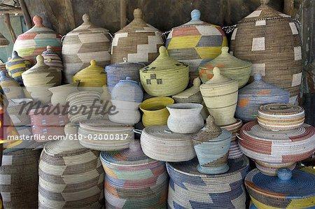 Senegal, Thies, vannery market