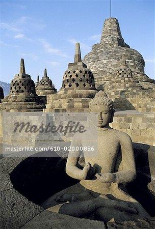 Indonésie, Java, Borobudur