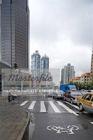 China, Shanghai, trafic