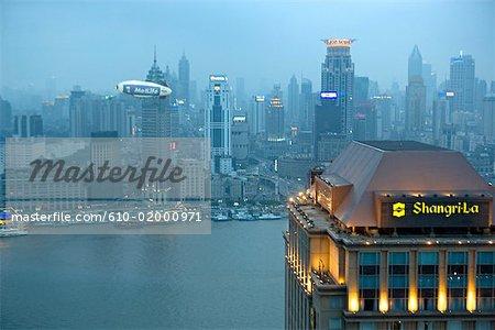 Chine, Shanghai by night