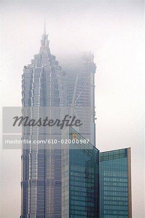 China, Shanghai, buildings