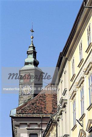 Slovenia, Lubiana, belfry