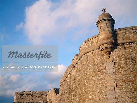 France, Bretagne, Saint-Malo, remparts