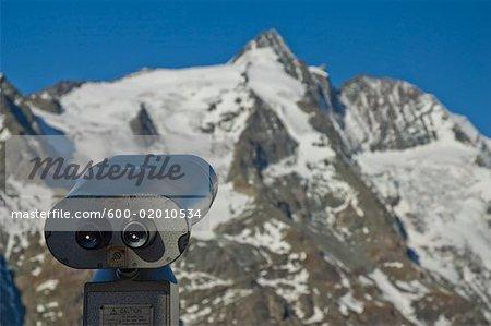Viewfinder Pointed at Grossglockner Mountain, Salzburg Land, Austria