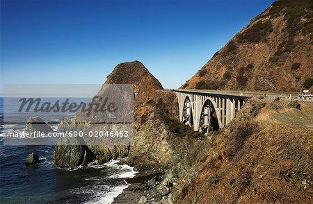 Highway 1, Near Big Sur, North California, California, USA