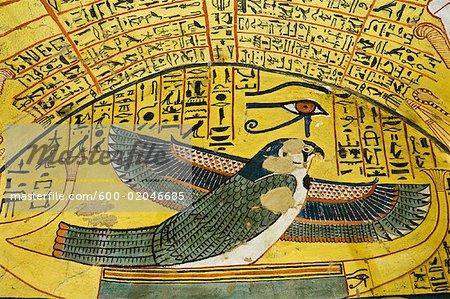 Ptah-Sokar-Osiris, Tomb of Pashedu, Deir Al-Medina, west Bank, Luxor, Egypt