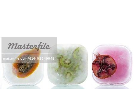 Gefrorenes Obst