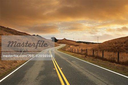 Road, California, USA