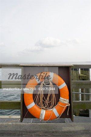 Gilet de sauvetage sur les bateaux