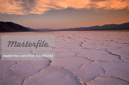 Badwater, Death Valley, Californie, USA