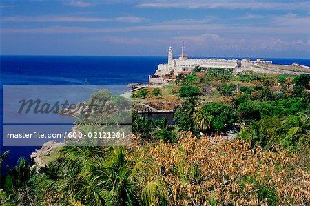 Castillo de los Tres, Santos Reyes del Morro, la Havane, Cuba